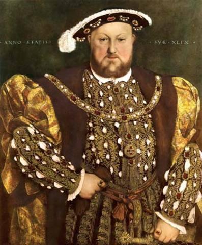 Henry VIII portree