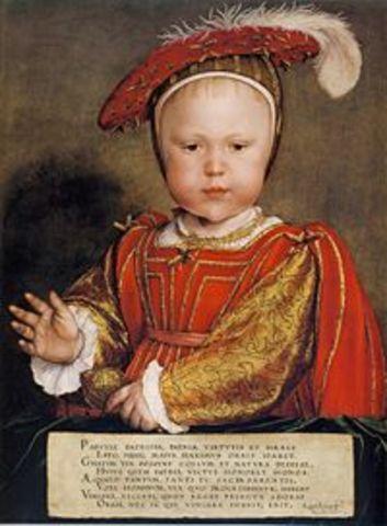 Edward VI lapsena