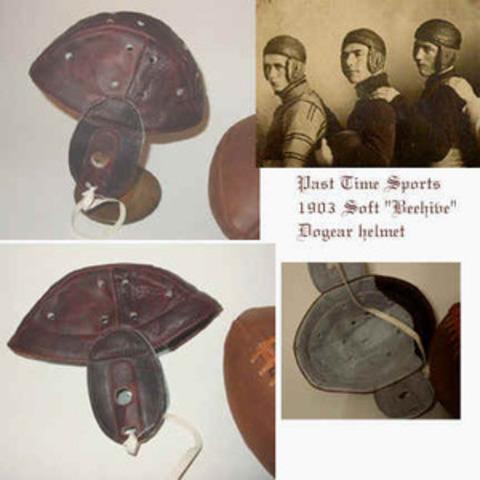 First Helmet Ever Made
