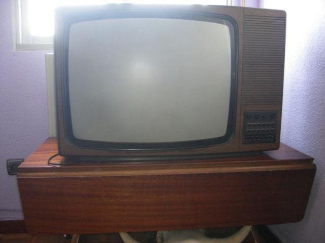 TELEVISIÓN EN MI CASA DESDE QUE TENGO USO DE RAZÓN