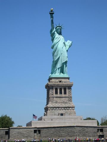 Statue of Liberty Was Dedicated