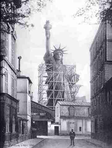 Statue of Liberty is Dedicated