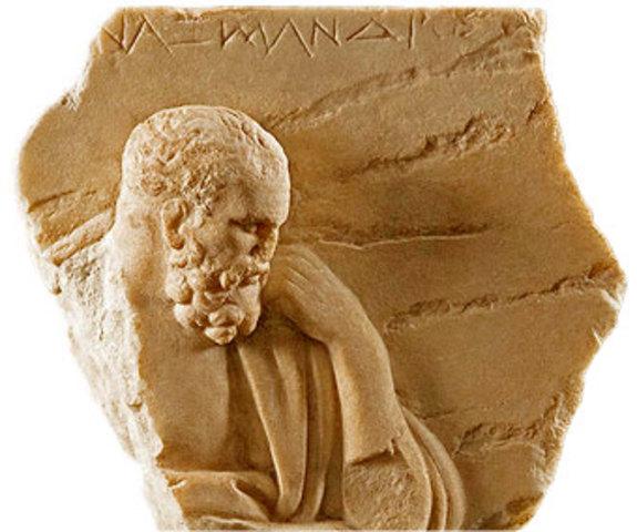 Anaximandro de Mileto.