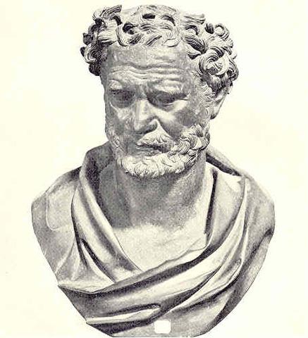 Democritus 460-370 BC.