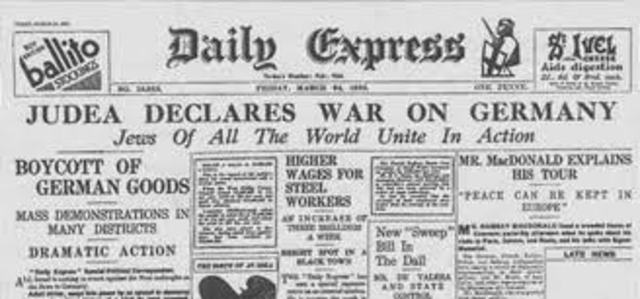 radicals declare war