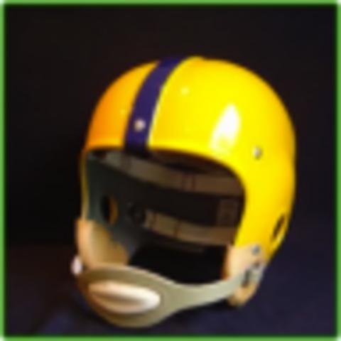 First Plastic Helmet