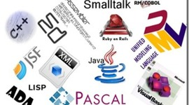 historia de los lenguajes de la programacion timeline