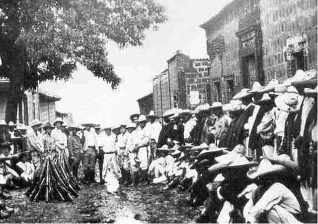 Levantamiento en el norte del Estado de Guanajuato del General Rodolfo Gallegos.
