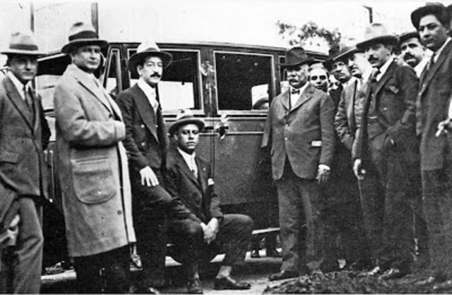 Atentado dinamitero contra el General Álvaro Obregón en el bosque de Chapultepec llevado a cabo por el Ingeniero Luis Segura Vilchis