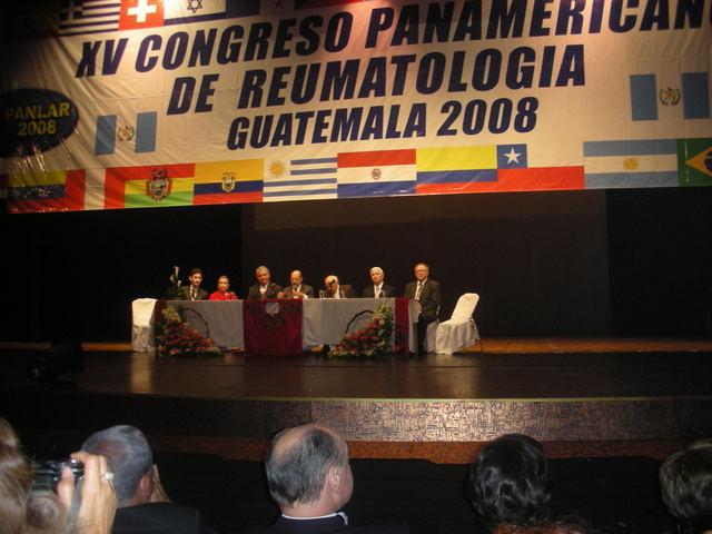 XV Congreso Panamericano . Guatemala