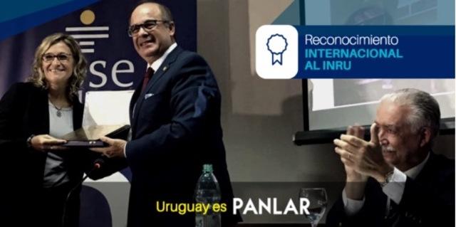 Entrega del reconocimiento como Patrimonio de la Reumatología Panamericana al INRU del Uruguay