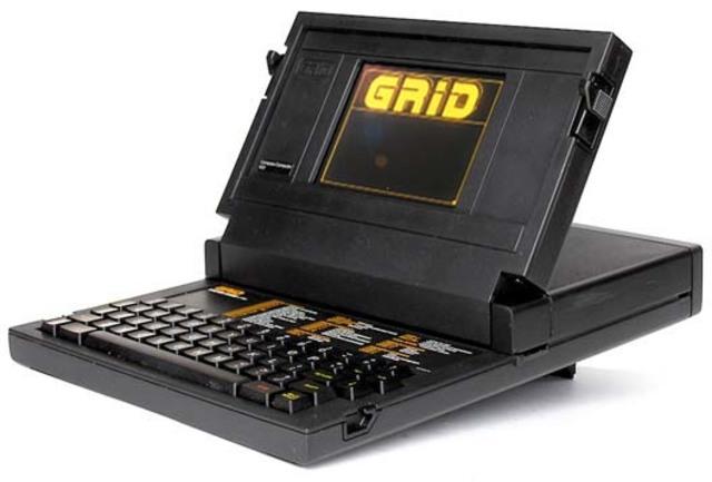 Grid Compass Considerado el primer ordenador portátil, se presentó en abril de 1982.