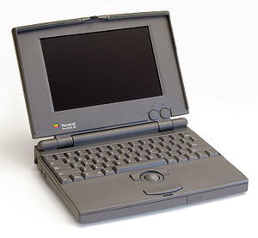 PowerBook 100 fabricado por Apple Computer