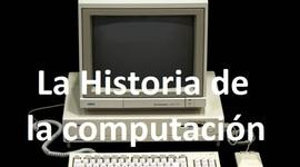 La Historia de la Computación. timeline