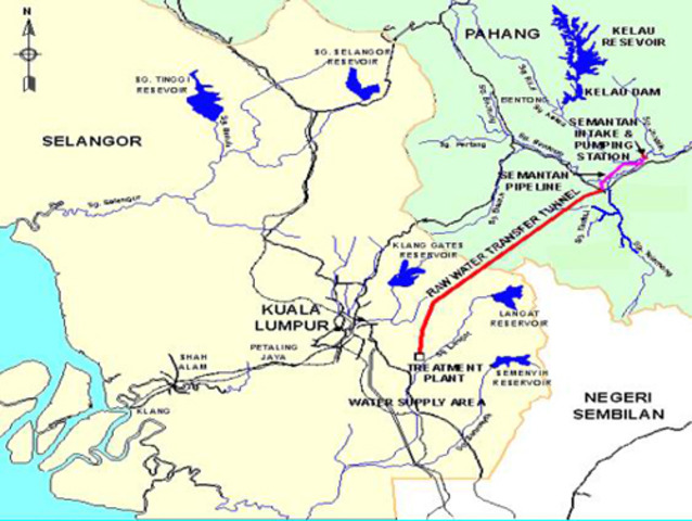 Pahang-Selangor raw water transfer project officiated by Pahang Sultan