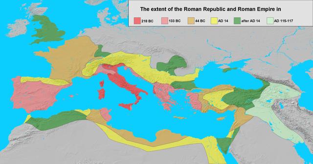 Roman conquers more land