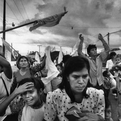 ¿Hechos que permitieron iniciar el conflicto Armado en El Salvador? timeline