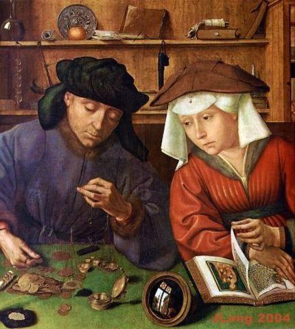 Rahavahetaja ja ta naine