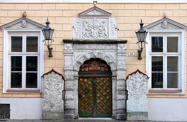 Tallinna Mustpeade maja fassaad