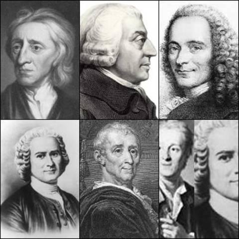 Os pensadores iluministas