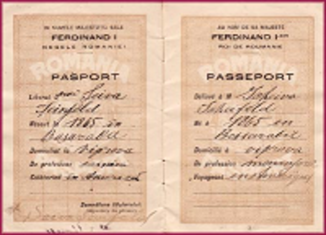 INTRNATIONAL PASSPORTS