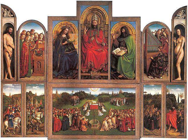 Genti altar avatuna