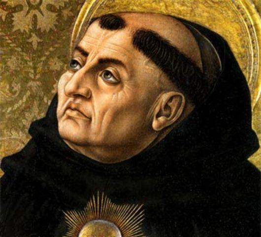 Santo Tomas de Aquino.