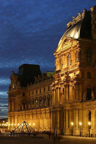 Louvre loss