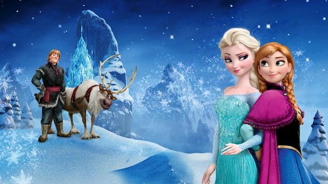 Elsa and Ana (frozen)