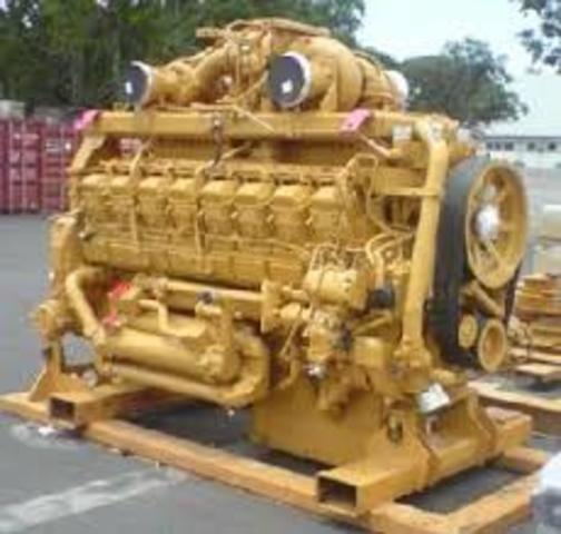History Of Cat Engines Timeline