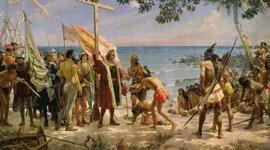La America pre- colonial y la conquista (Coralia Shadle presentation) timeline