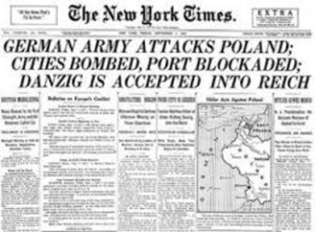 WW2 Timeline project | Timetoast timelines