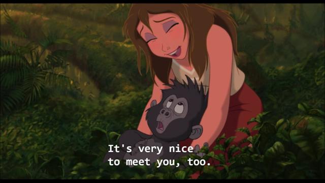 Tarzan The Animated Version Timeline Timetoast Timelines