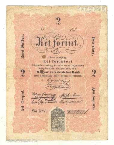 Az első magyar kiadású bankjegy (Kossuth - bankó)