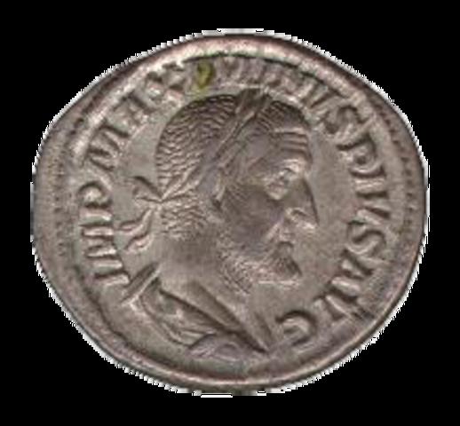 A római pénzérmék megjelenése