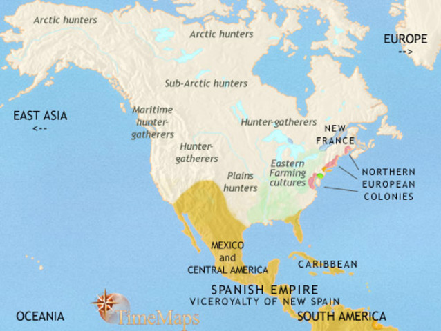 an overview of the influence of the spanish rule on the changes in america Before the arrival of the english, the spanish influence in the new world extended from the chesapeake bay to the tip of south america spanish possessions included the developing cities of mexico, peru, and cuba.
