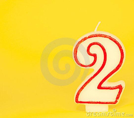 I turn two!