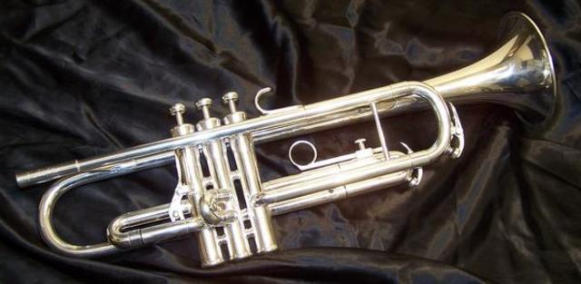 Bought a new trumpet