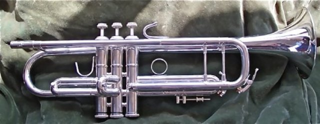 Bought another new trumpet.
