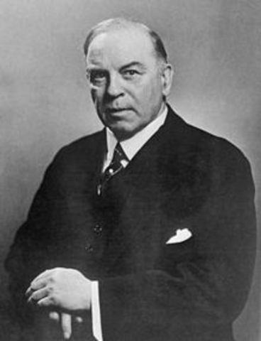 William Lyon Mackenzie King was Elected Prime Minister