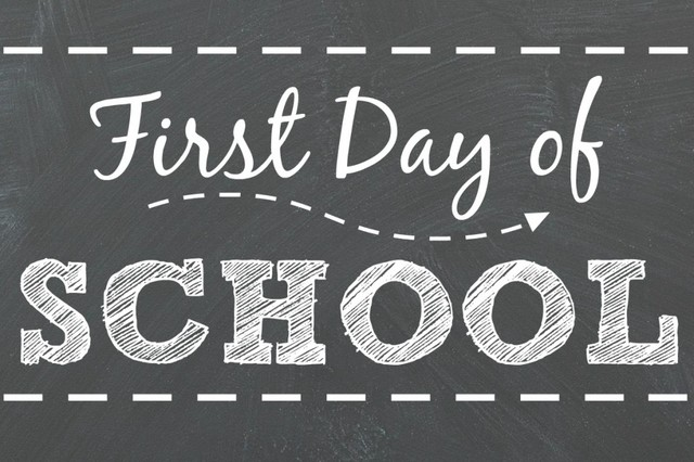 First school day