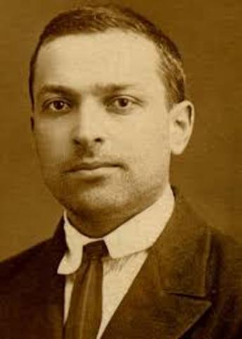 Lev Vigotsky. (1896-1934).Psicólogo soviético.
