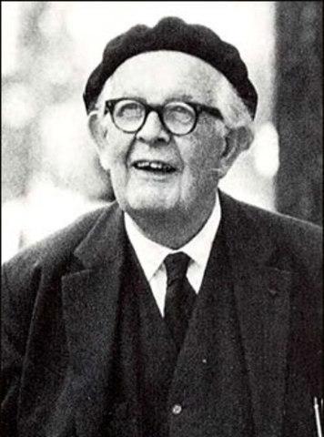 Jean Piaget. (1896-1980).Epistemólogo, Psicólogo y Biólogo suizo
