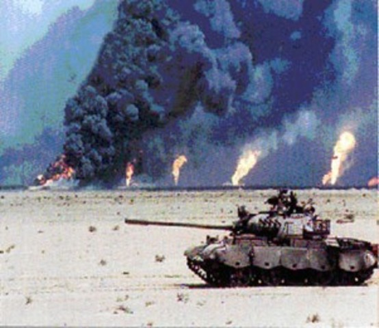 Persian Gulf War/ First Iraq War