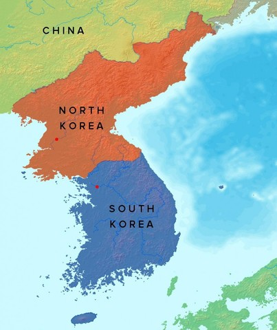 Beginning of the korean war timeline timetoast timelines korea divides korea divides after world war ii gumiabroncs Images