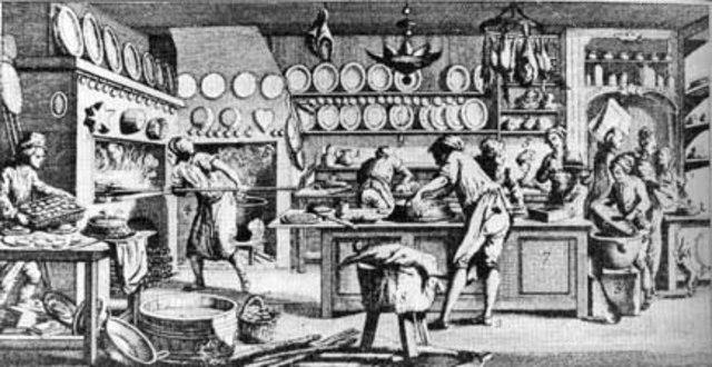 Historia de la gastronom a mundial timeline timetoast for Gastronomia francesa historia