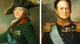 Павел Первый и Александр Первый  timeline