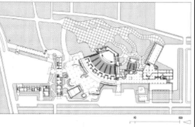 Diseño de la Plaza Cubierta de la Ciudad Universitaria de Caracas