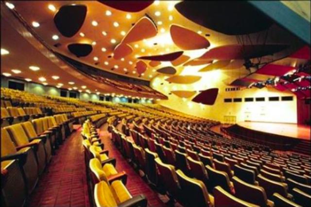 El aula Magna de la Universidad Central de Venezuela