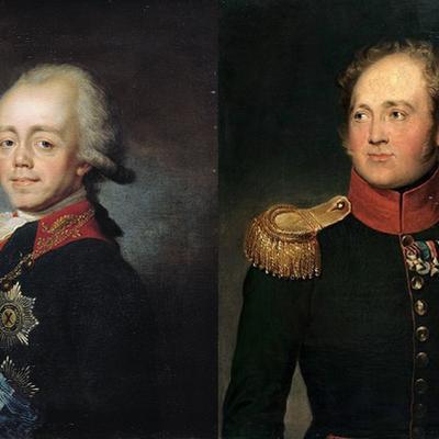 Правление Павла I и Александра I. События timeline